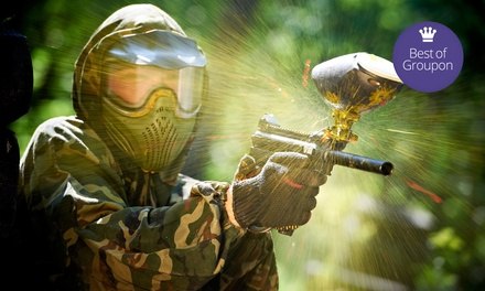 All-Day Paintball for One, Two, or Four with Gear and Paintballs at Xtreme Paintball Park (Up to 51% Off)