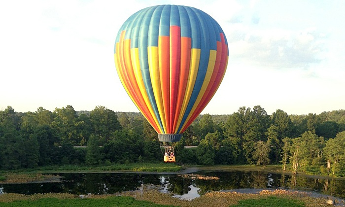 Virginia Balloons - Multiple Locations: $349 for a Hot Air Balloon Flight with Champagne for Two from Virginia Balloons (Up to $998 Value)