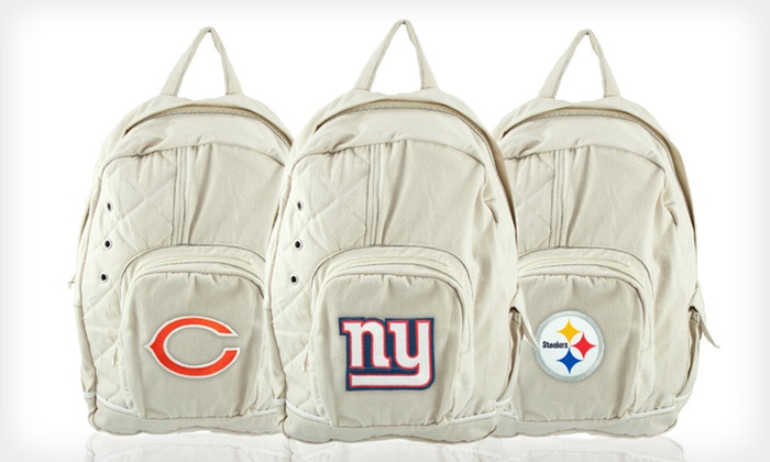 NFL Old School Backpack: $25 for an NFL Old School Backpack ($44.99 List Price). All 32 Teams Available. Free Shipping and Free Returns.