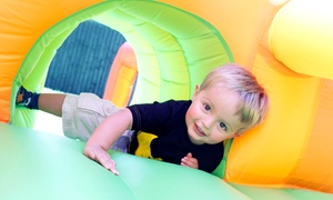 Kidz-Playz Party Rentals: Four-Hour Rental of a Small Inflatable Bounce House or a Medium Combo Bounce House from Kidz-Playz (Up to 55% Off)