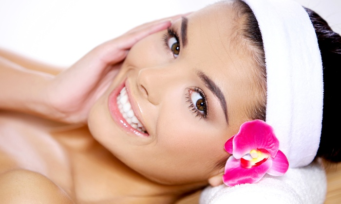 CloudMover Day Spa - Huntington Beach: Facial with Swedish Massage or Organic Airbrush Tan at CloudMover Day Spa (Up to 54% Off)