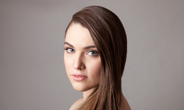 Deereco Hair Design - Lutherville - Timonium: Haircut with Optional Partial Highlights, or Full Keratin Treatment at Deereco Hair Design (Up to 63% Off)