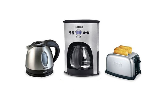 bouilloire, toaster, cafetière   groupon shopping