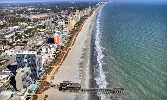 null - Raleigh / Durham: Stay for Two, with Dates Through May, at Patricia Grand Resort Hotel in Myrtle Beach, SC