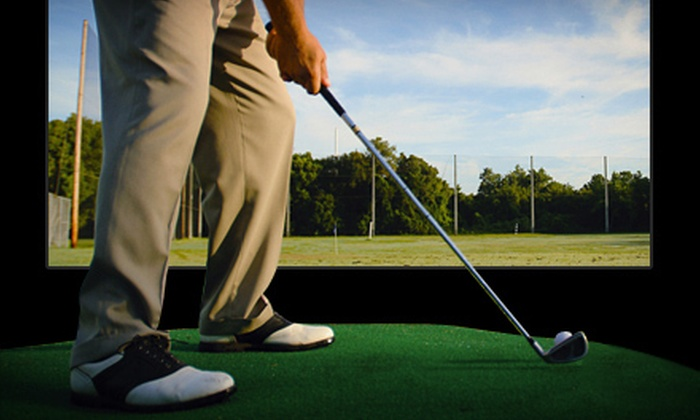 Sweet Spot Golf & 19th Hole Sports Bar - Markham: One- or Two-Hour Room Rental or Private Lesson at Sweet Spot Golf & 19th Hole Sports Bar (Up to 58% Off)