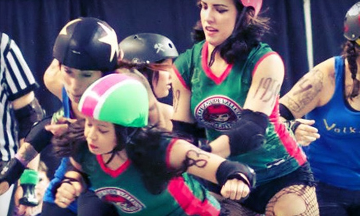 """Treasure Valley Rollergirls """"Vengeance in the Valley"""" or """"From Dusk 'til Derby"""" - Downtown: Treasure Valley Roller Girls Bout at CenturyLink Arena on August 10 or 24 (Up to 51% Off). Two Options Available."""