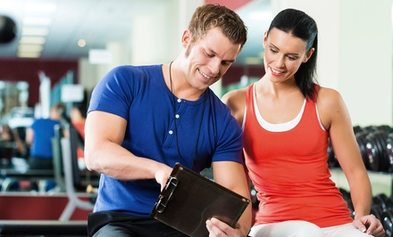 Personal Training with Option for One-Month Gym Membership at Affinity Fitness (Up to 89% Off)