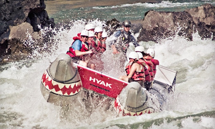Hyak Wilderness Adventures - Lytton: Power-Rafting Trip for One, Two, Four, or Eight from Hyak Wilderness Adventures in Lytton (Up to 55% Off)