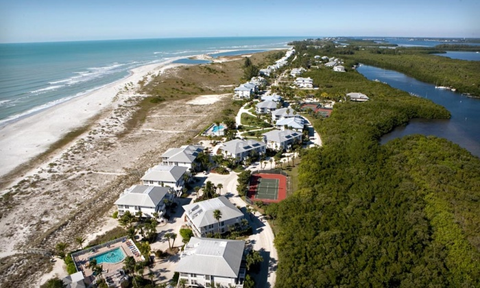 Palm Island Resort - Grove City-Rotonda: Two-Night Stay with Golf-Cart Rental and Beach Towel at Palm Island Resort in Cape Haze, FL