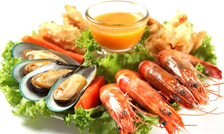 Thursday Seafood Buffet with Drinks for Up to Four at Novotel Dubai Deira City Centre (Up to 54% Off)