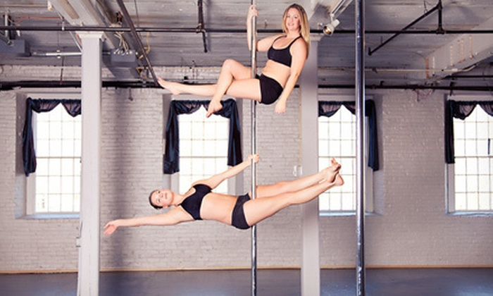 Aerial Arts Fitness - Jewett City: Five Pole-Fitness Classes or One Month of Unlimited Pole-Fitness Classes at Aerial Arts Fitness (51% Off)