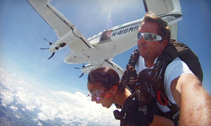 Skydive Air Adventures - Clewiston: $150 Towards Skydiving
