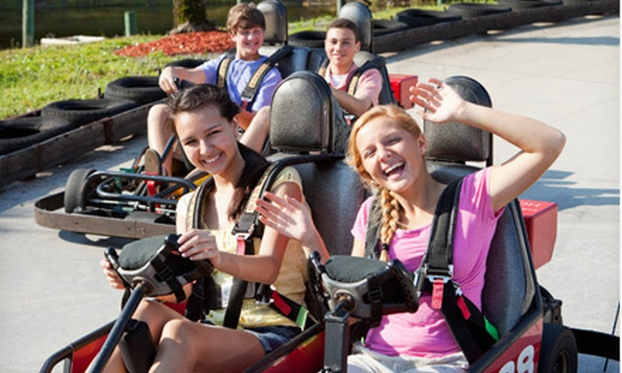 All Star Adventures and All Star Sports - Multiple Locations: Five Fun-Park Attractions for One or Two at All Star Adventures and All Star Sports (Up to 53% Off)