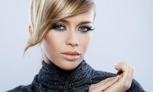 Leeba Salon: Cut with Optional Blowout, Full-Foil Highlights, or Brazilian Keratin Treatment at Leeba Salon (Up to 55% Off)