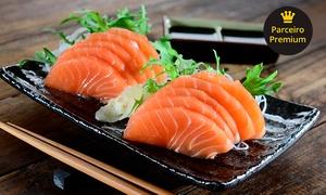 Oyabun Sushi Bar: Combo japa com 36, 56 ou128 peças noOyabun Sushi Bar – Jardim Botânico