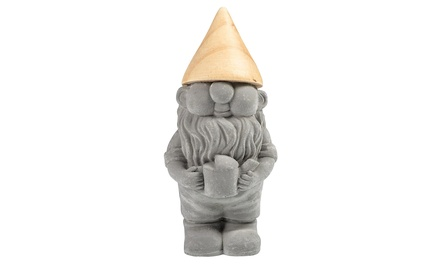 Cement Watering Can Gnome