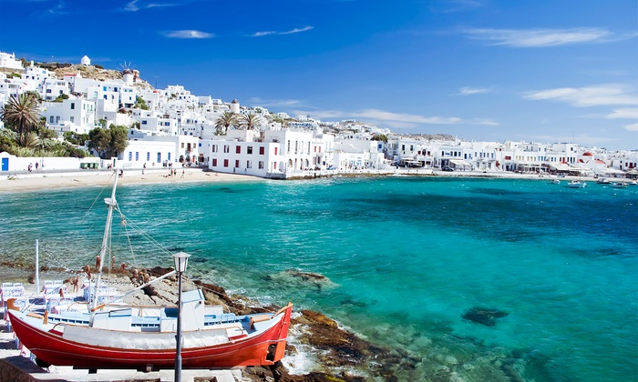 Greek Island Vacation with Airfare from go-today in - Athens