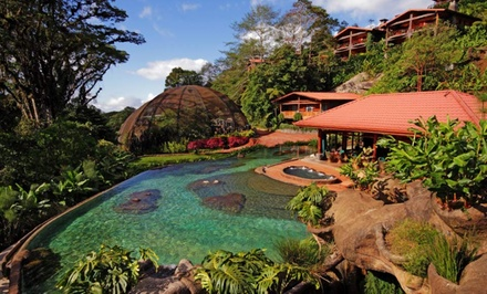 3-, 4-, or 5-Night Stay for Two at Peace Lodge in Costa Rica. Combine up to 10 Nights.
