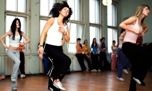 M Dance & Fitness: Four or Eight Dance Fitness Classes at M Dance & Fitness (Up to 49% Off)