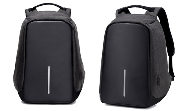 Anti Theft Backpack with USB Charging Port: One ($29.95) or Two ($49.95)