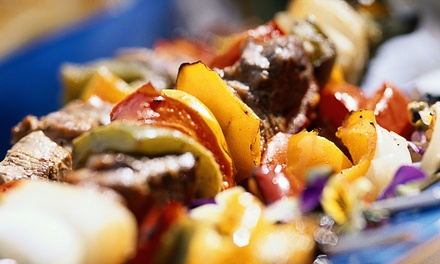 Dinner for Two or Four at Al-Amir Lebanese Restaurant and Club  (Up to 42% Off)