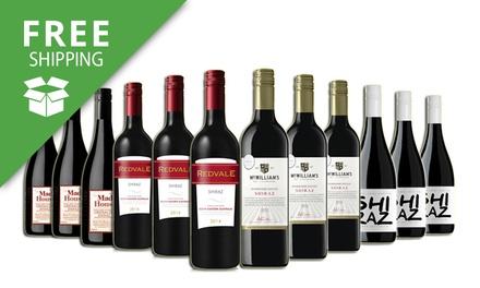 Free Shipping: $69 for a 12Bottle AwardWinning Avid Shiraz Mixed Wine Case Don't Pay $189