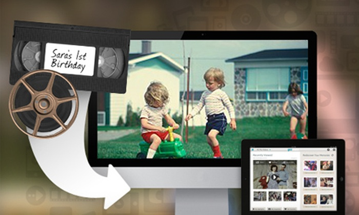 YesVideo: $9.99 for $50 Worth of VHS and Film Reel Transfer Services for Online Viewing, Editing, and Sharing from YesVideo