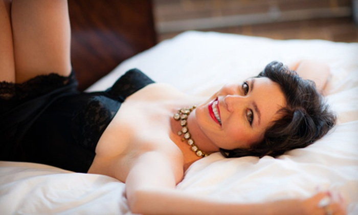 Heroic Photography - Central West End: $75 for an In-Studio Boudoir Photo Shoot with $30 Print Credit at Heroic Photography ($279 Value)