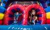 Pump It Up - The Canyon: Three or Five Open Jump Sessions from Anaheim Pump It Up (Up to 52% Off)