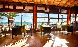 Área Sunset: Caldero del Mar Menor, entrante, bebida y postre para dos o cuatro desde 24,95€ € en Área Sunset