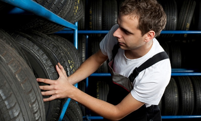 Gunner Tire - Multiple Locations: $30 for $100 Worth of Tires, Wheels, and Installation Services at Gunner Tire. Two Locations.