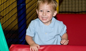 Stomping Grounds Playland: Two or Four Admissions, or Brewster's Fun Bash Party for Up to 16 at Stomping Grounds Playland (Up to 42% Off)