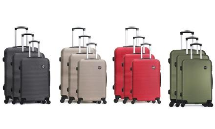 Set di 3 valigie Bluestar