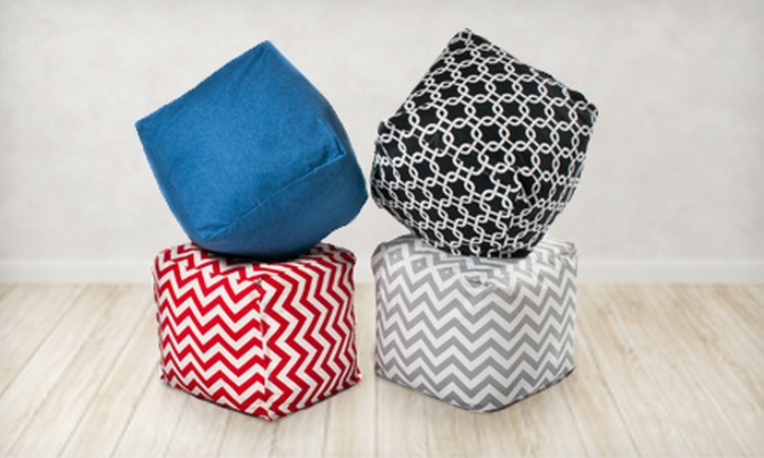 Hip-0 Modern Living Beanbag Cube: $49 for a Hip-0 Modern Living Beanbag Cube ($100 List Price). Four Colors Available.