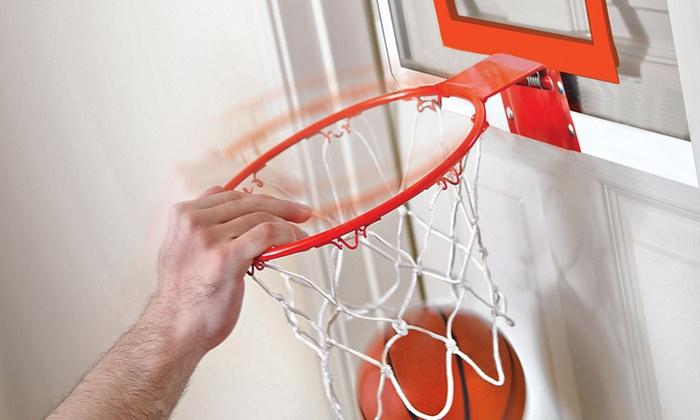 Hanging Mini-Basketball Hoop: The Black Series Hanging Mini-Basketball Hoop. Free Shipping and Returns.