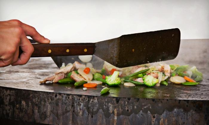 Todoroki Hibachi + Sushi - Evanston: $20 for $40 Worth of Hibachi Dinner at Todoroki Hibachi + Sushi