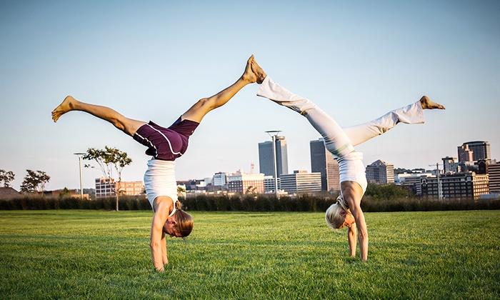 Maya Yoga - Crossroads: Three or Five Yoga Classes  at Maya Yoga (Up to 67% Off)