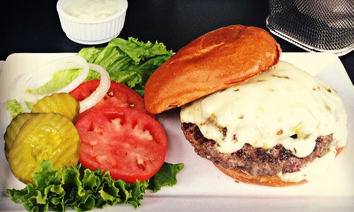Five Star Burgers - Multiple Locations: $12 for $25 Worth of Burgers, Salads, and Drinks at Five Star Burgers