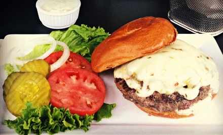 $12 for $25 Worth of Burgers, Salads, and Drinks at Five Star Burgers