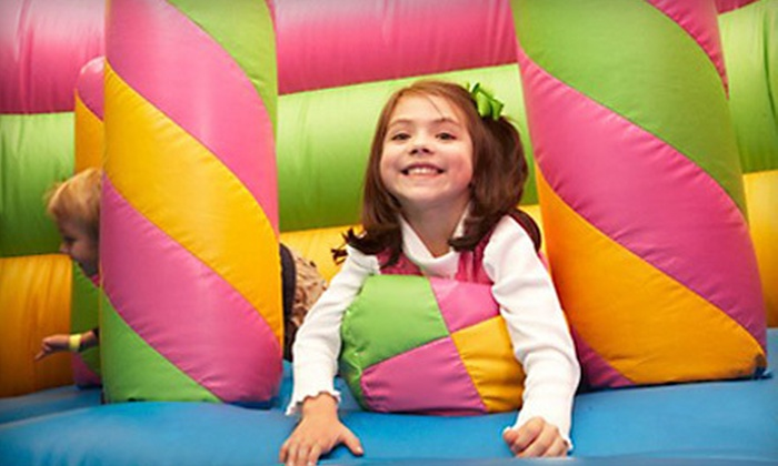 Monkey Joe's - Cary - Cary: Bounce-House Playground Visits at Monkey Joe's – Cary (Up to 55% Off). Three Options Available.