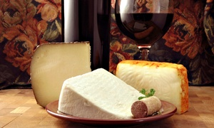 Talk of The Table: Wine and Cheese Tasting for Two or Four at Talk of The Table (35% Off)