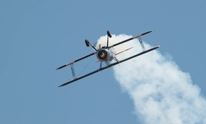 Robinson Aerobatics: $95 for a Scenic Biplane Ride at Robinson Aerobatics ($190 Value)