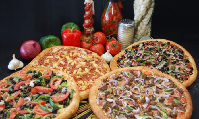 Happy Pizza - Manteca: Sicilian-Style Pizza with Appetizer for Two or Four at Happy Pizza (Up to 54% Off)