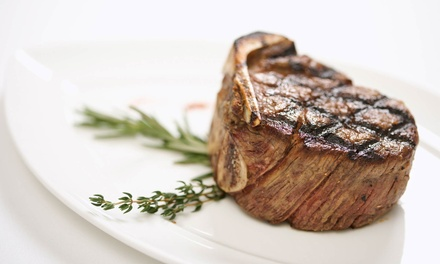 Steak and New American Food at The Bistro (50% Off). Two Options Available.