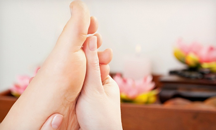Midtown Foot Doctors - Midtown South Central: Laser Toenail-Fungus Removal for One Foot or Both Feet at Midtown Foot Doctors (75% Off)