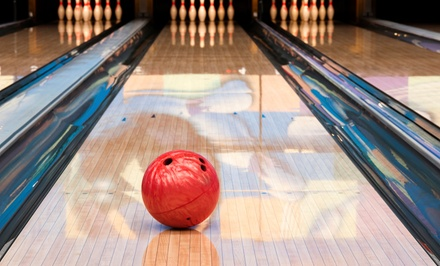 Bowling Package for Two, Four, or Six with Appetizers and Small Drinks at Surf Bowl (Up to 57% Off)