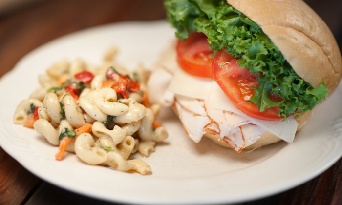 Colabs Cafe and Bake Shop - Downtown: Sandwiches and Café Fare for Two or Four at Colabs Cafe and Bake Shop (Half Off)