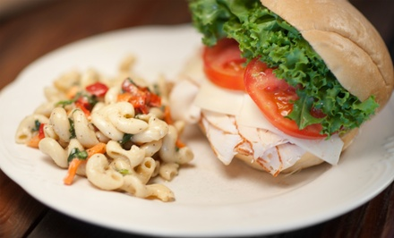 Sandwiches and Café Fare for Two or Four at Colabs Cafe and Bake Shop (Half Off)