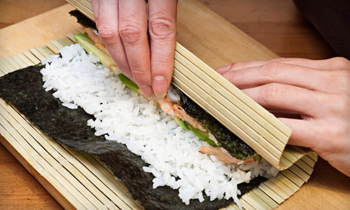 OceanFresh Seafood - Simi Valley: Sushi-Making Class for One or Two or Private Sushi-Making Class for Up to Eight at OceanFresh Seafood (Up to 56% Off)