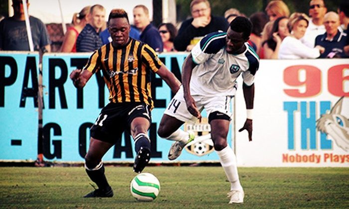 Charleston Battery - Charleston: $10 for Any Charleston Battery Home Soccer Game for Two at Blackbaud Stadium ($20 Value)